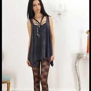 *Black Floral Lace Leggings*NWT*